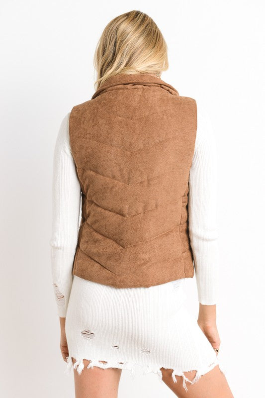 Patty Vest Camel