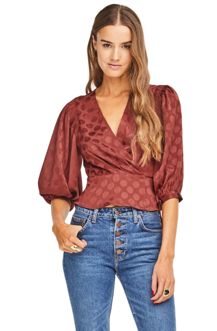Lara Top in Cinnamon
