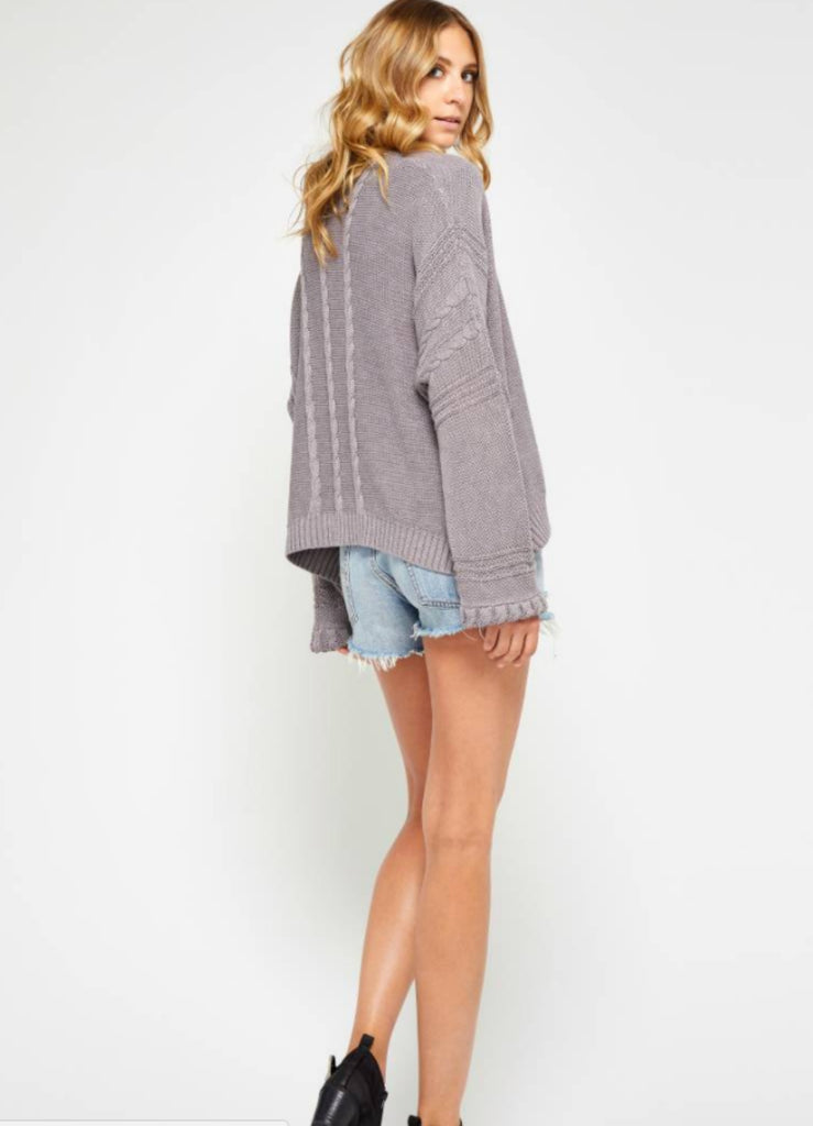 Aletta Braid Sweater - Bangle Boulevard