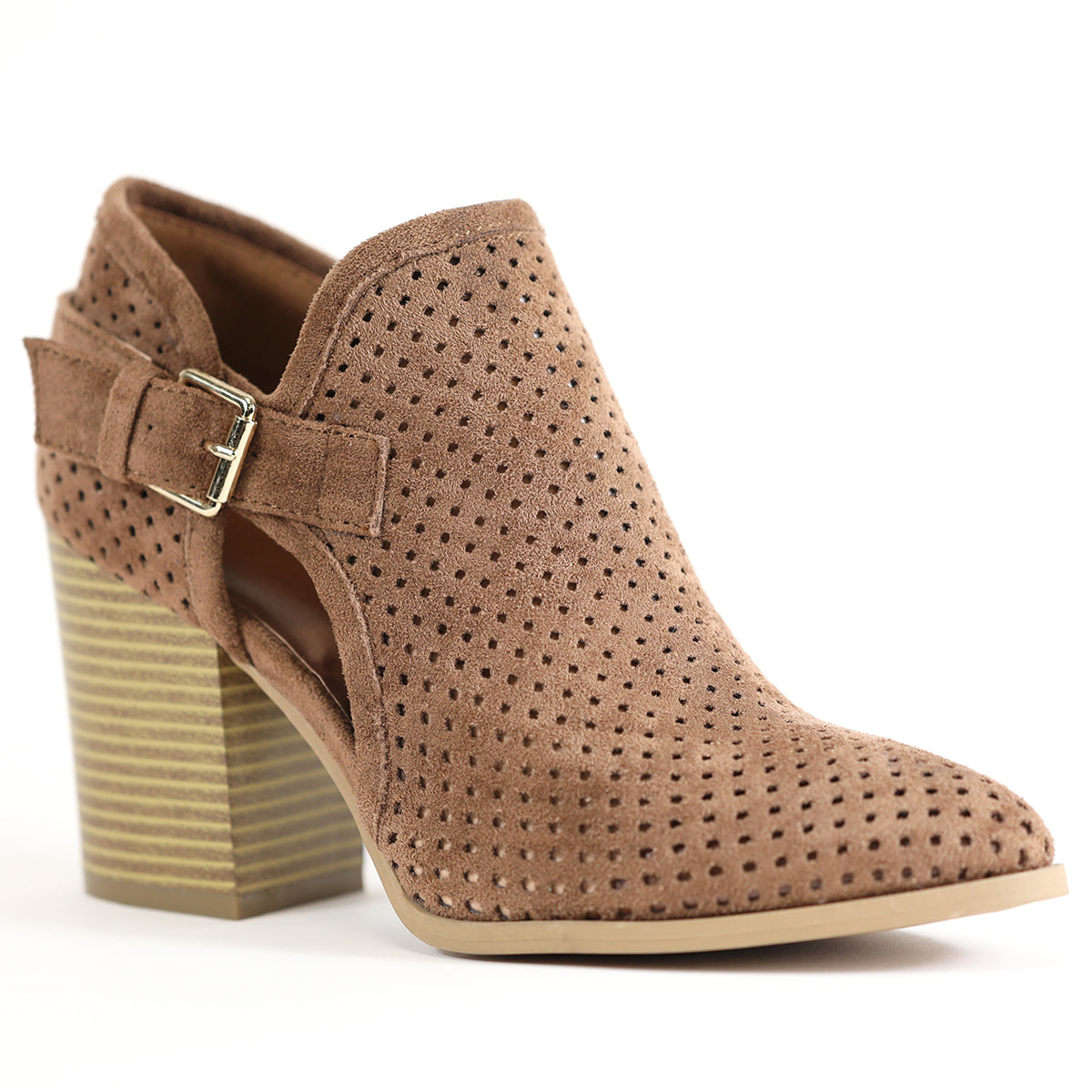 Baka Suede in Whiskey - Bangle Boulevard