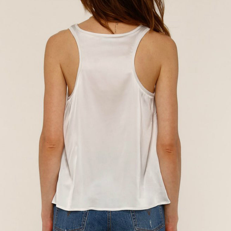 Chantelle Top Ivory - Bangle Boulevard