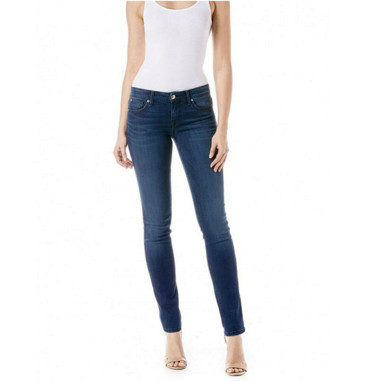 Lily Skinny Straight in Ocean