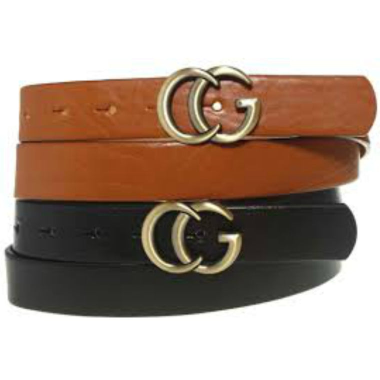 Not A Gucci Belt - Cognac / Brown