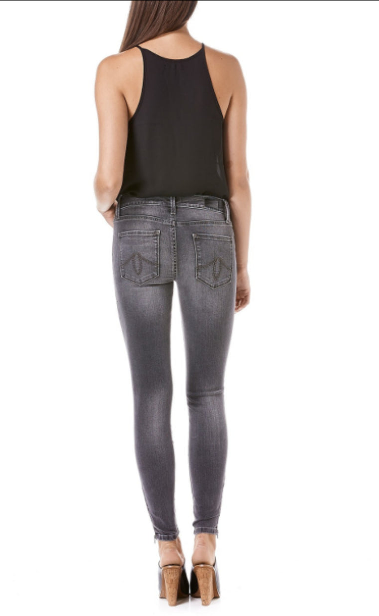 Liza Skinny Jeans in Aschen - Bangle Boulevard