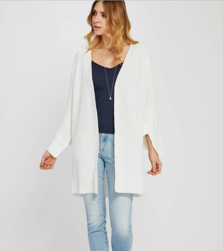 Elora Cardigan in White