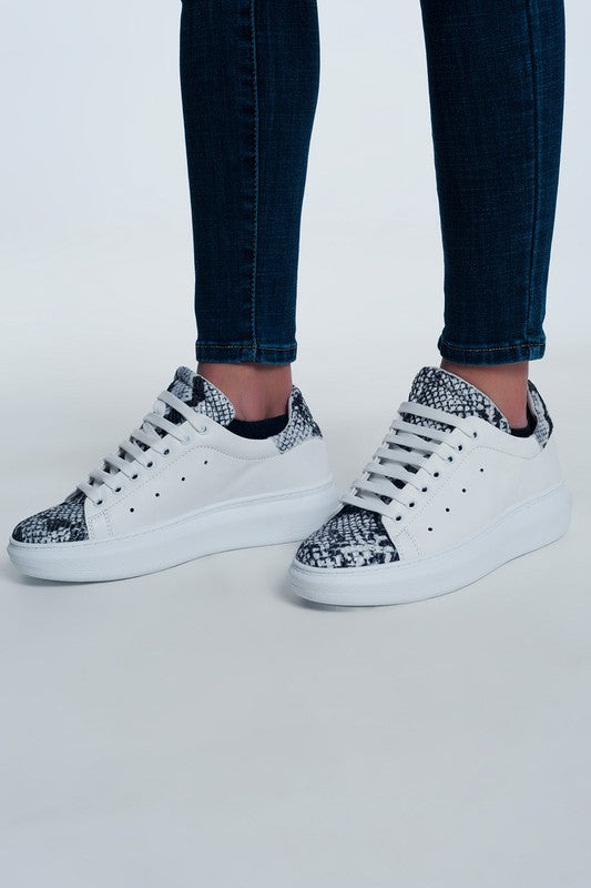 Slithery Little Snake Sneakers - Bangle Boulevard