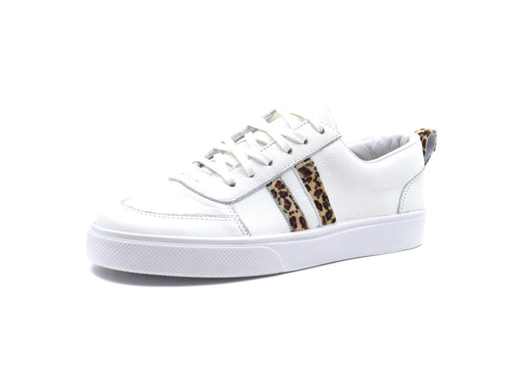 Corvina Leopard Lace Up Sneaker
