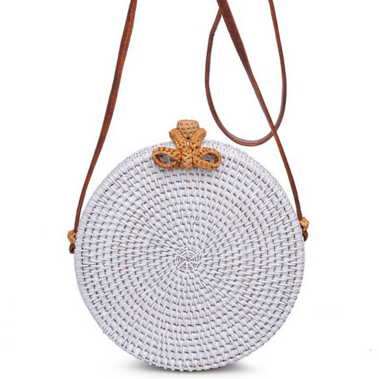 Barcelona Bag - White - Bangle Boulevard