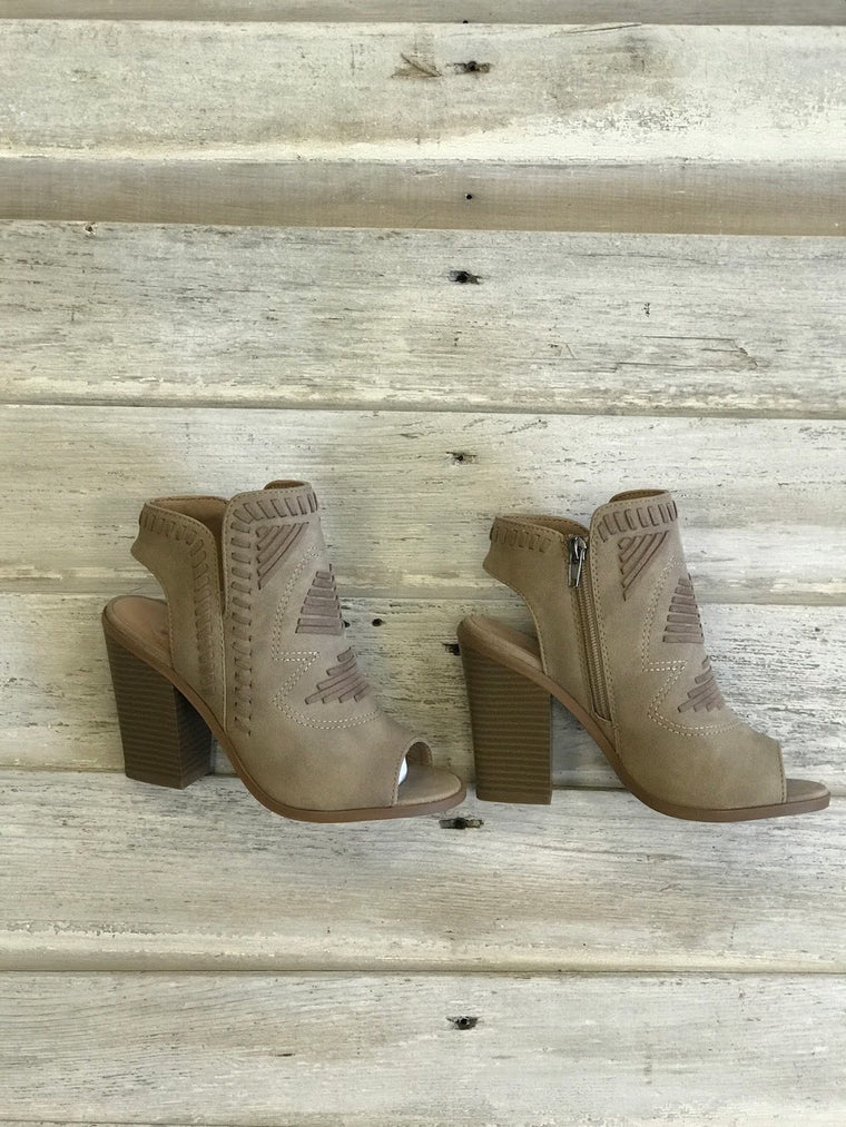 Tina Tribal Bootie