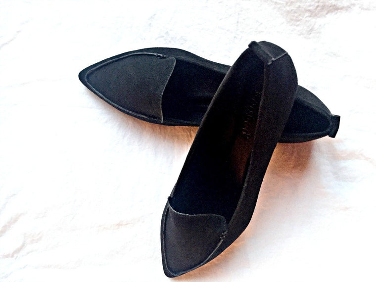 The Sally Suede Flat - Bangle Boulevard