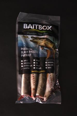 Bait Box Lamprey Sections Deadbait