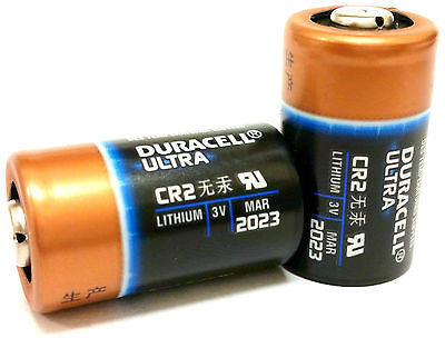 Duracell CR2 3v Batteries for Nash Siren R3 Alarm