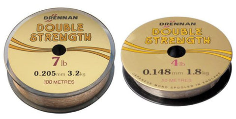 Drennan Double Strength Main Line 100mts Spools