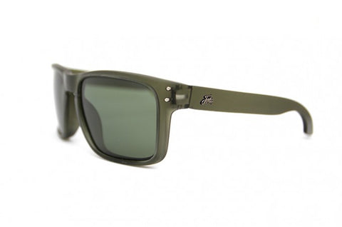 Fortis Bays Polarised Sunglasses Trans Green