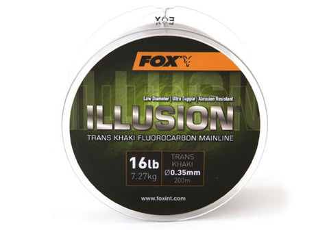 Fox Illusion Mainline Trans Khaki 200m