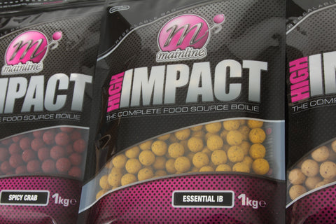 Mainline Baits High Impact Shelf Life Boilies 1 Kilo Bags