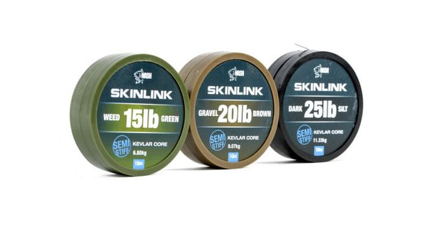 Nash Skinlink Semi Stiff Coated Hooklink