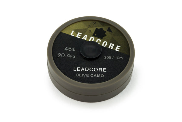 Thinking Anglers Leadcore 45lb 10m Olive Camo