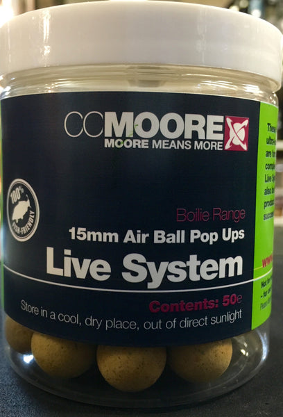 CC Moore Dedicated Air Ball Pop ups