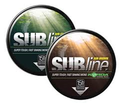 Korda SUBline Mainline Green and Brown