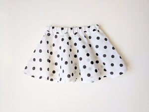 Dotty swiss dot twirl skirt