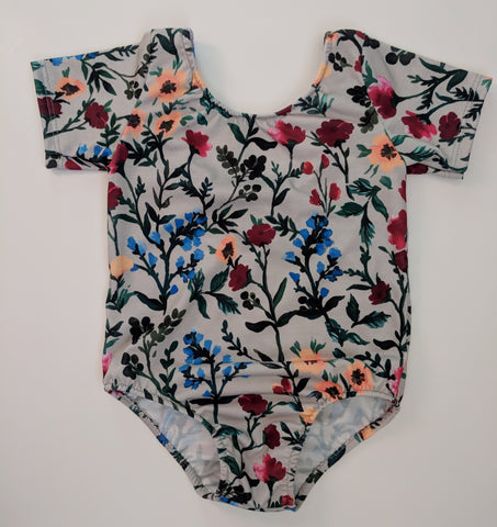 October Blooms leotard