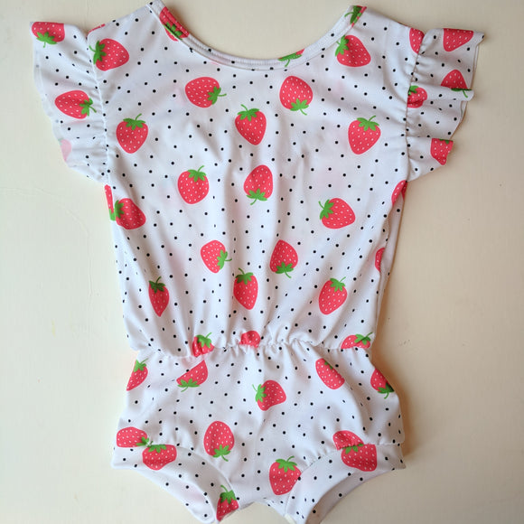 Strawberry Essential Romper