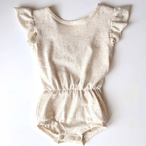 Speckled Essential Romper