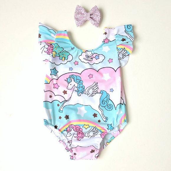 Enchanted unicorn leotard
