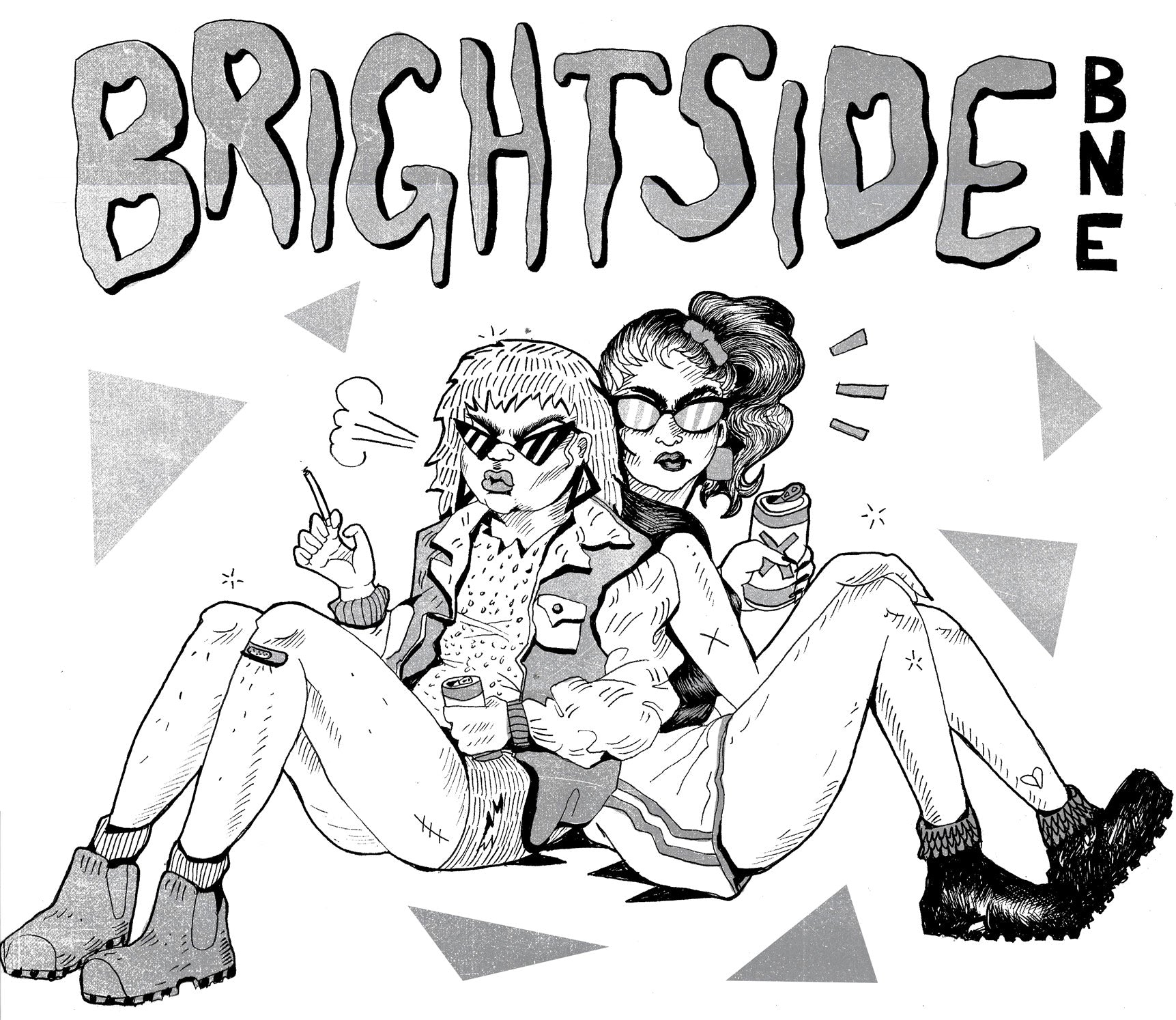 The Brightside, T-Shirt 2017