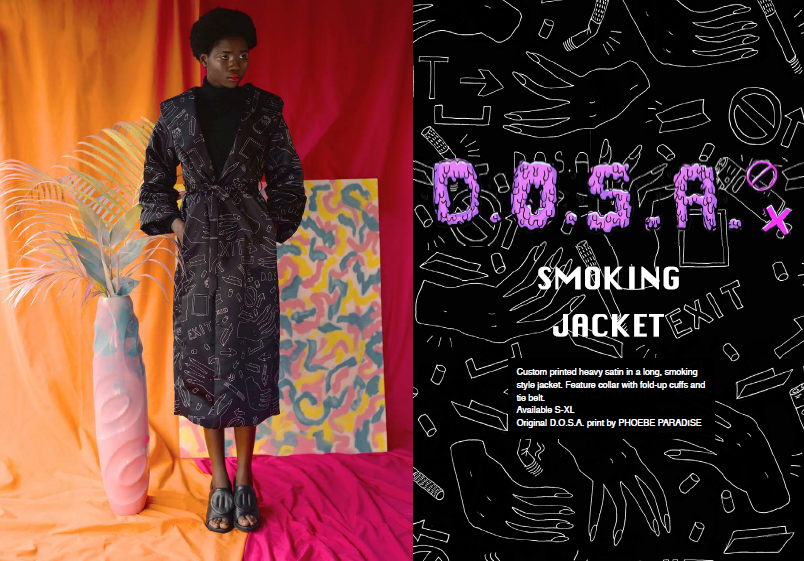 DOSA Smoking Jacket