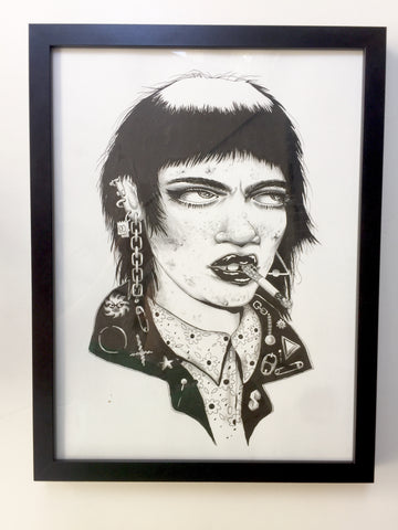 SHEENA Framed Original