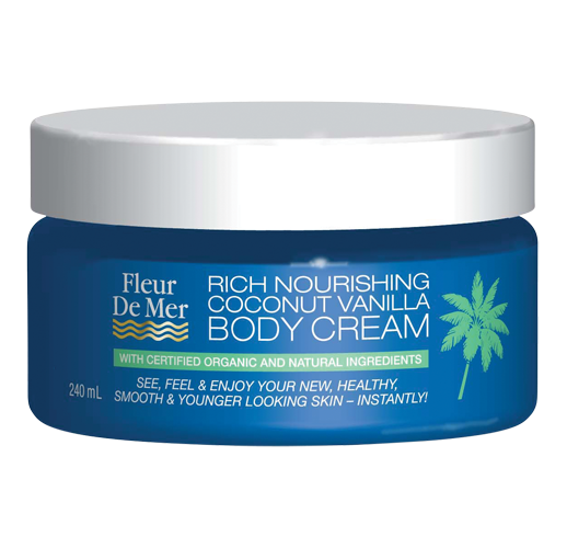 Rich Nourishing Coconut Vanilla Body Cream