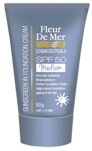 Total Sunscreen SPF 50 Medium Tinted