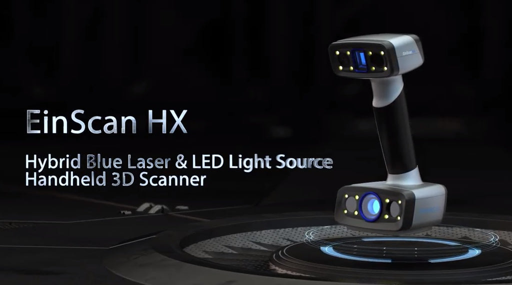 EinScan HX high resolution 3D laser scanner