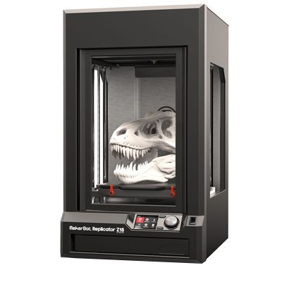 We're now selling MakerBot desktop 3D printers