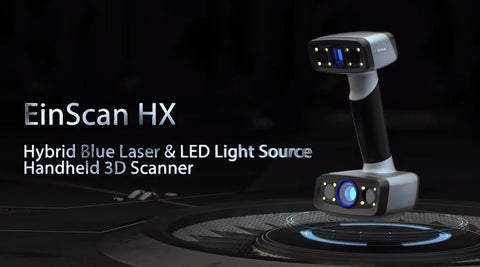 EinScan-HX engineering 3D laser scanner * NEW