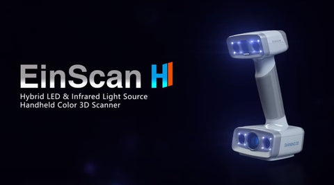 EinScan-H face & body 3D scanner * NEW
