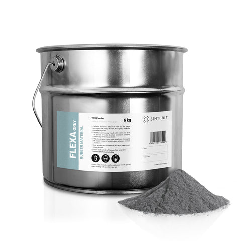 SLS Powder – TPU FLEXA GREY (6kg)