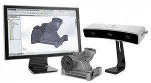 Geomagic Capture 3D scanner with turntable & case (Ex-demo)