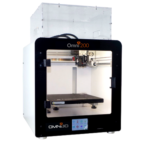 Omni200 CF 3D Printer ~200mm³ * CARBON FIBRE