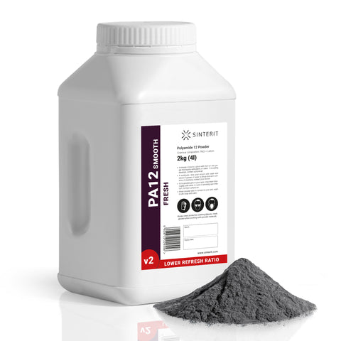 SLS Powder – Nylon PA12 Smooth v2 FRESH (2kg)