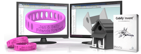 Invent: 3D modelling