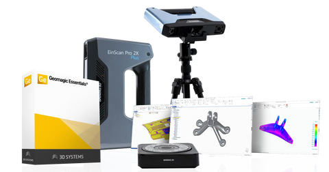 EinScan-Pro 2X Plus with Geomagic Essentials