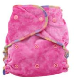 Easy Feel Bamboo Velour Fitted Cloth Diaper