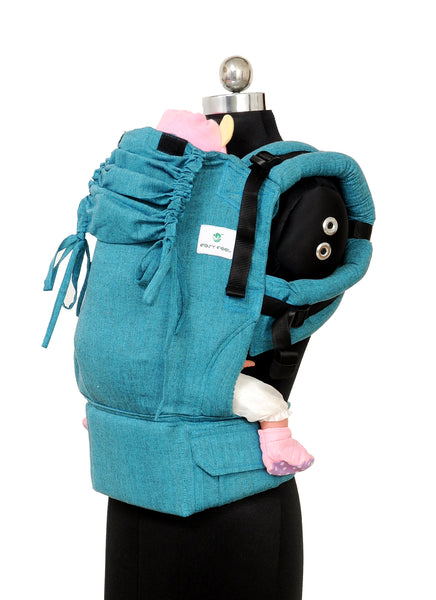Easy Feel Full Buckle Ergonomic Soft Structured Carrier (Standard Size) - Beryl