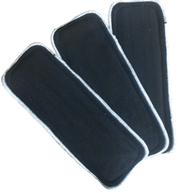 Easy Feel 5-Layer Bamboo Charcoal Cloth Diaper Insert (Single Piece Pack)
