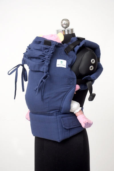 Easy Feel Full Buckle Ergonomic Soft Structured Carrier (Toddler Size) - Cobalt