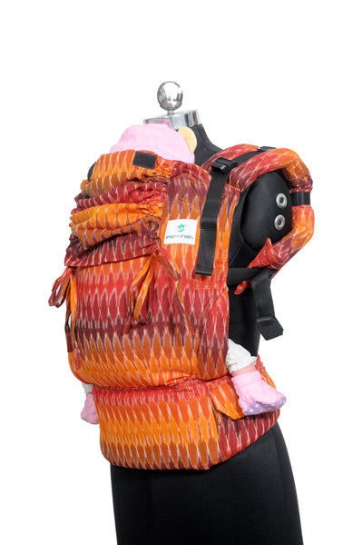 Easy Feel Full Buckle Ergonomic Wrap Converted Soft Structured Carrier (Toddler Size) - Ember