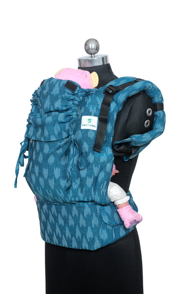 Easy Feel Full Buckle Ergonomic Wrap Converted Soft Structured Carrier (Standard Size) - Freshwater